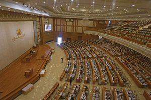Myanmar Parliament Lower House