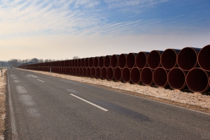 Gas pipeline tubes