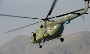 Russian Mi-17 helicopter, Afghanistan