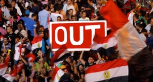 Egyptians call for the ouster of President Morsi