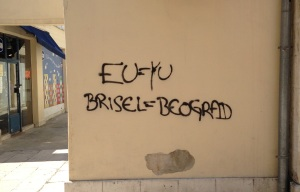 Graffiti in Split, Croatia