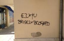 Graffiti in Split, Croatia