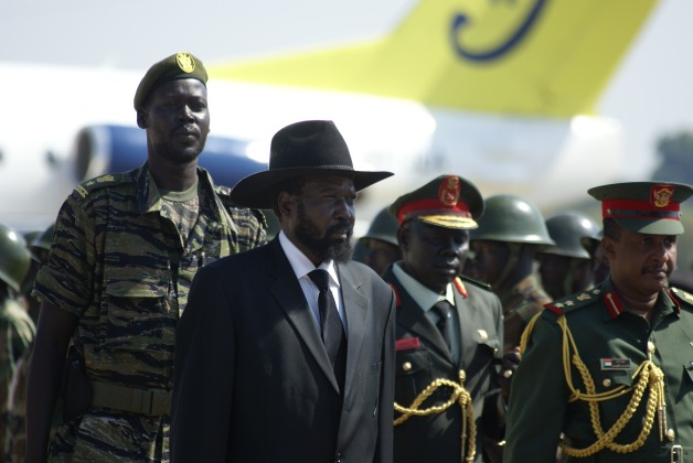 President Kiir South Sudan