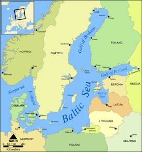 Map for Baltic LNG Terminal