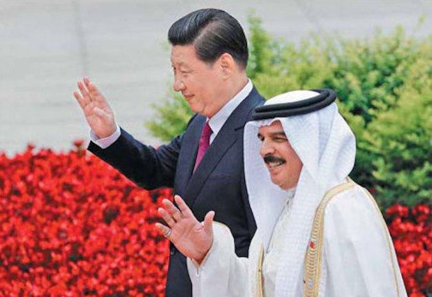 Xi Jinping at FTA negotiations with GCC