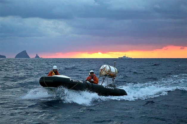 Japanese coast guard off Senkaku Islands