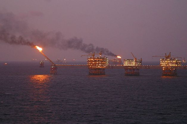 South China Sea oil rig