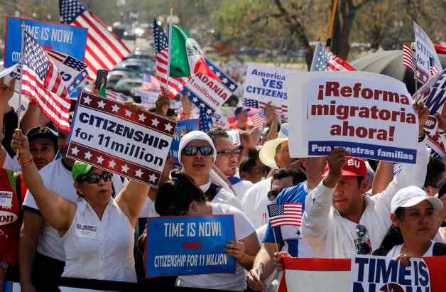 U.S. immigration reform protest