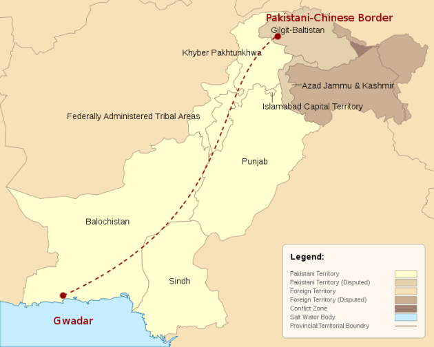China Pakistan corridor (NSBCN International)