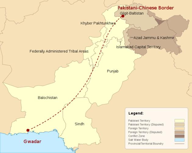 China Pakistan corridor (NSBCN International)