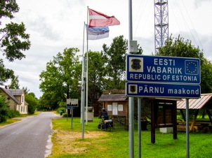 Estonia border