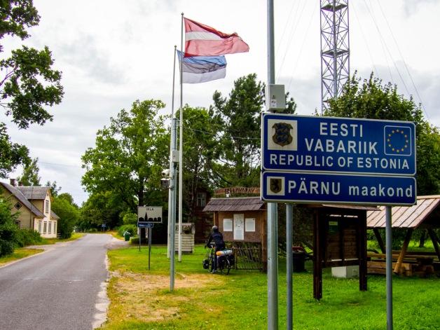 Estonia border