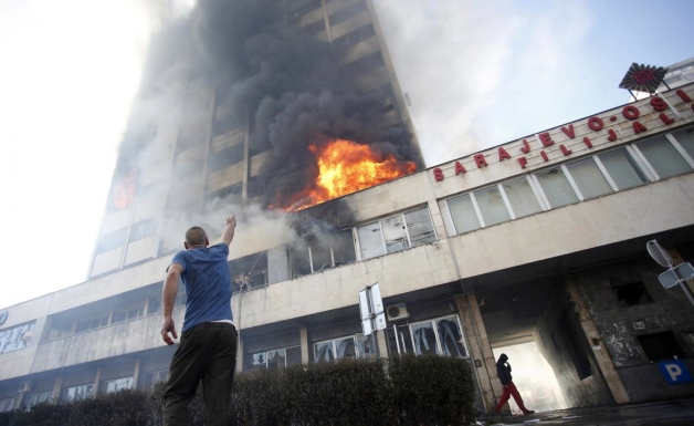 Bosnia protest (Reuters/Dado Ruvic)