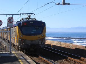 Kalk Bay station, Cape Town, South Africa; Source: CC-BY-SA-2.5 via Wikipedia
