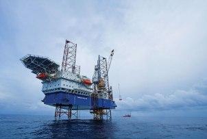 Mediterranean israel gas rig drilling