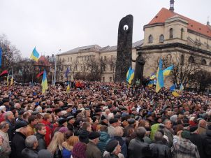 Protests in Ukraine; Source: Helgi via Wikipedia