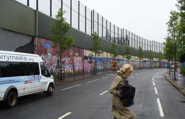 Belfast Northern Ireland Peace Wall