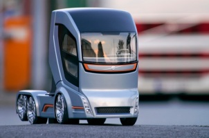 Volvo Concept Truck 2020; Source: Volvo Trucks via http://news.softpedia.com/newsImage/Cleaner-Driverless-Trucks-Coming-Our-Way-2.jpg/