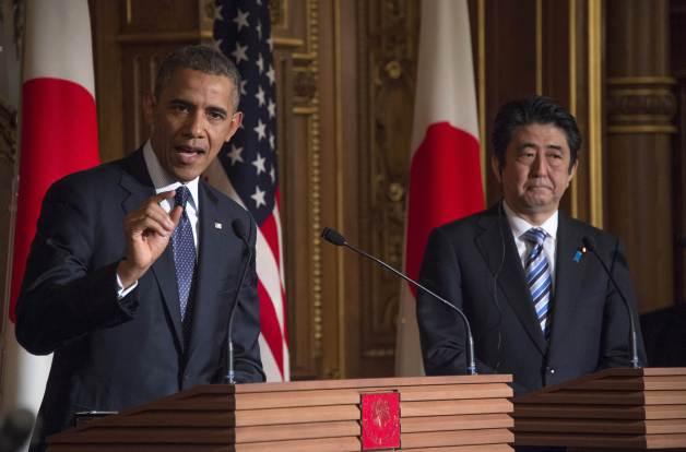 Japan US Abe Obama