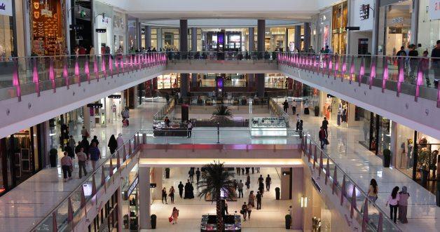 Dubai shopping retail mall